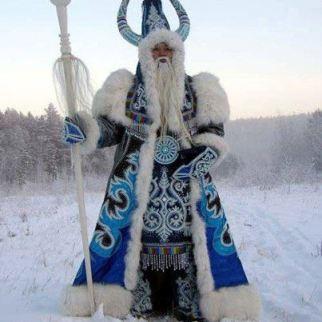 """""""Chysh Khan'' - EL Rey del Invierno, el Toro del Hielo, El frío guardián de los Turkics Siberianos."""